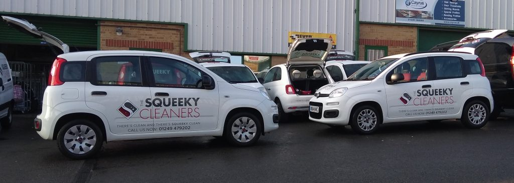 Comemrcial and domestic cleaning - car fleet