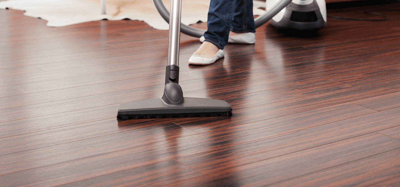 Domestic Cleaners Chippenham Wiltshire - vacuum wooden floor